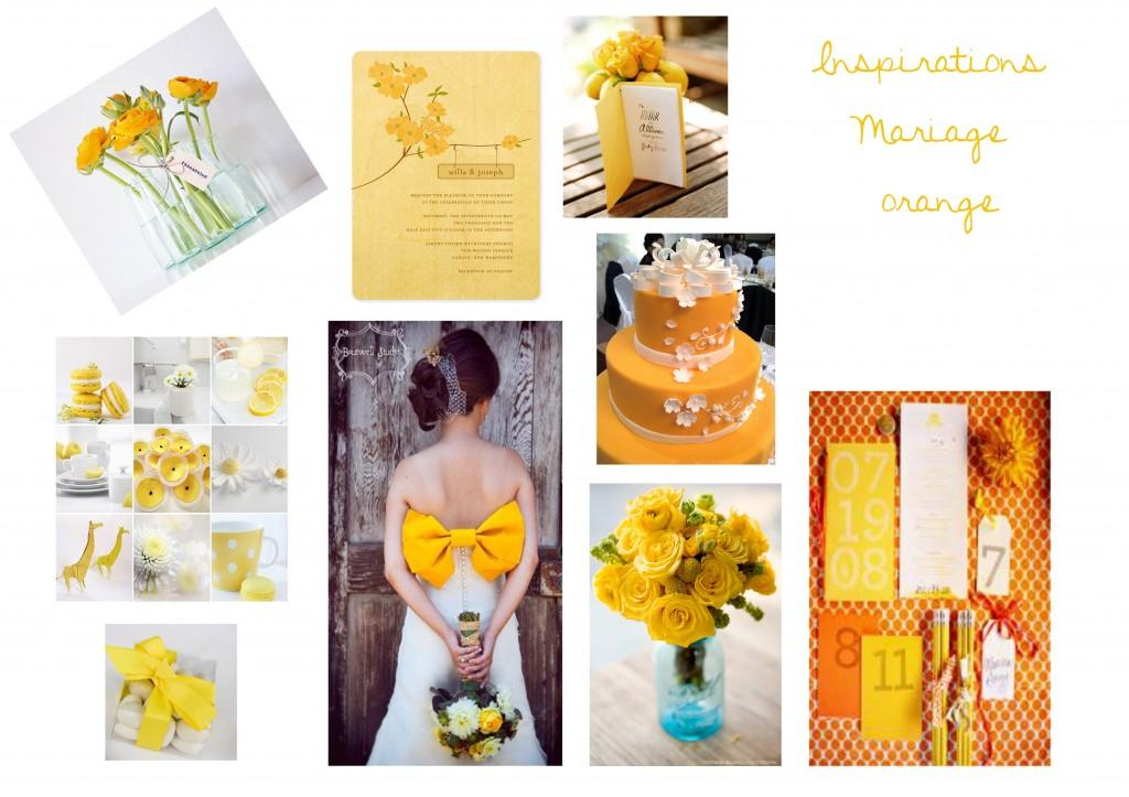 La signification des couleurs de robes de mariage echo web - Mariage couleur orange ...