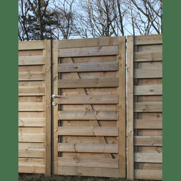 Jouez la nature avec la cloture en bois cote cloture for Porte cloture bois
