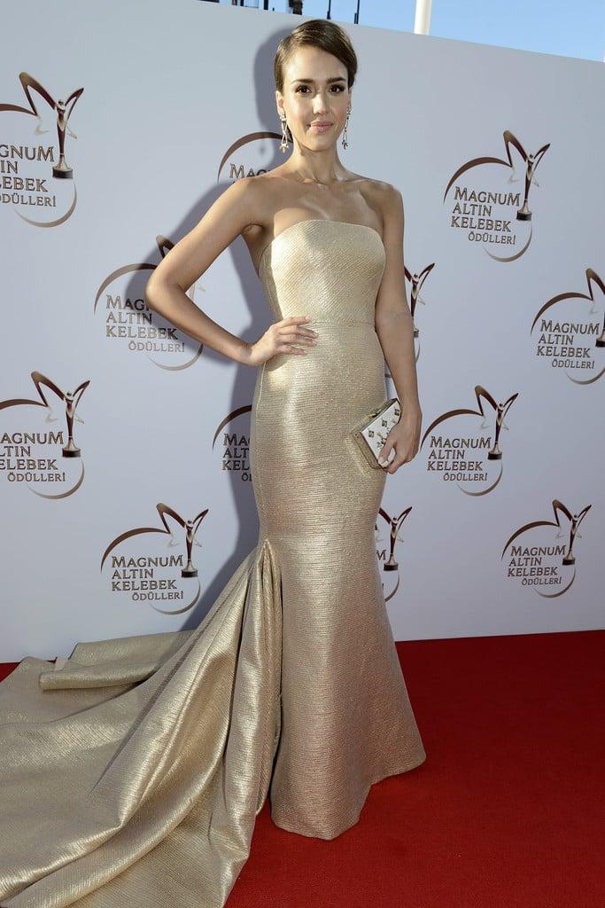 Jessica Alba a fait une apparition étincelante lors d'une soirée à Istanbul
