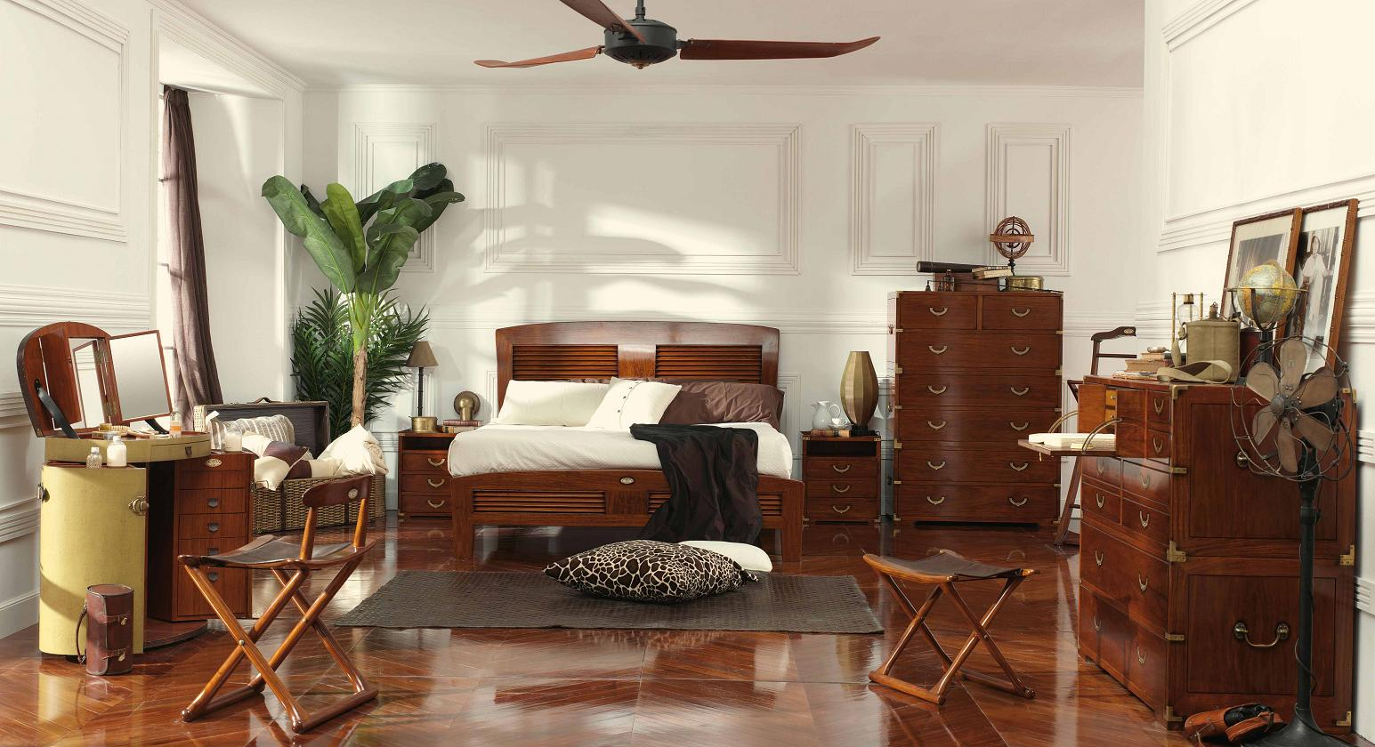 le d cor colonial un style part et hors du temps echo web. Black Bedroom Furniture Sets. Home Design Ideas