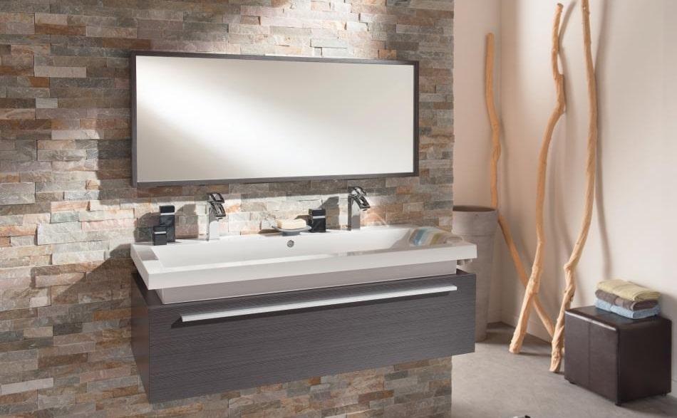 Salle de bain moderne un lieu de calme et de simplicit echo web - Salle de bain brun ...