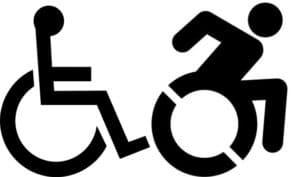 pictogramme fauteuil handicap