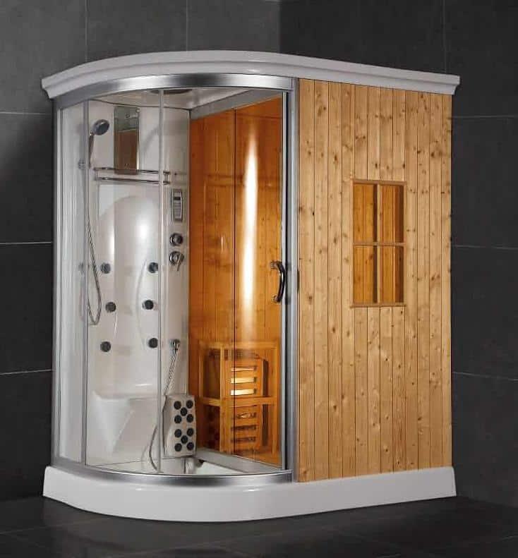 Cabine Hammam Pas Cher cabine de douche en bois. excellent taille et luxe en bois petite