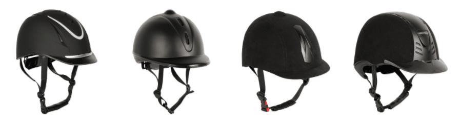 casque d'équitation différents modèles
