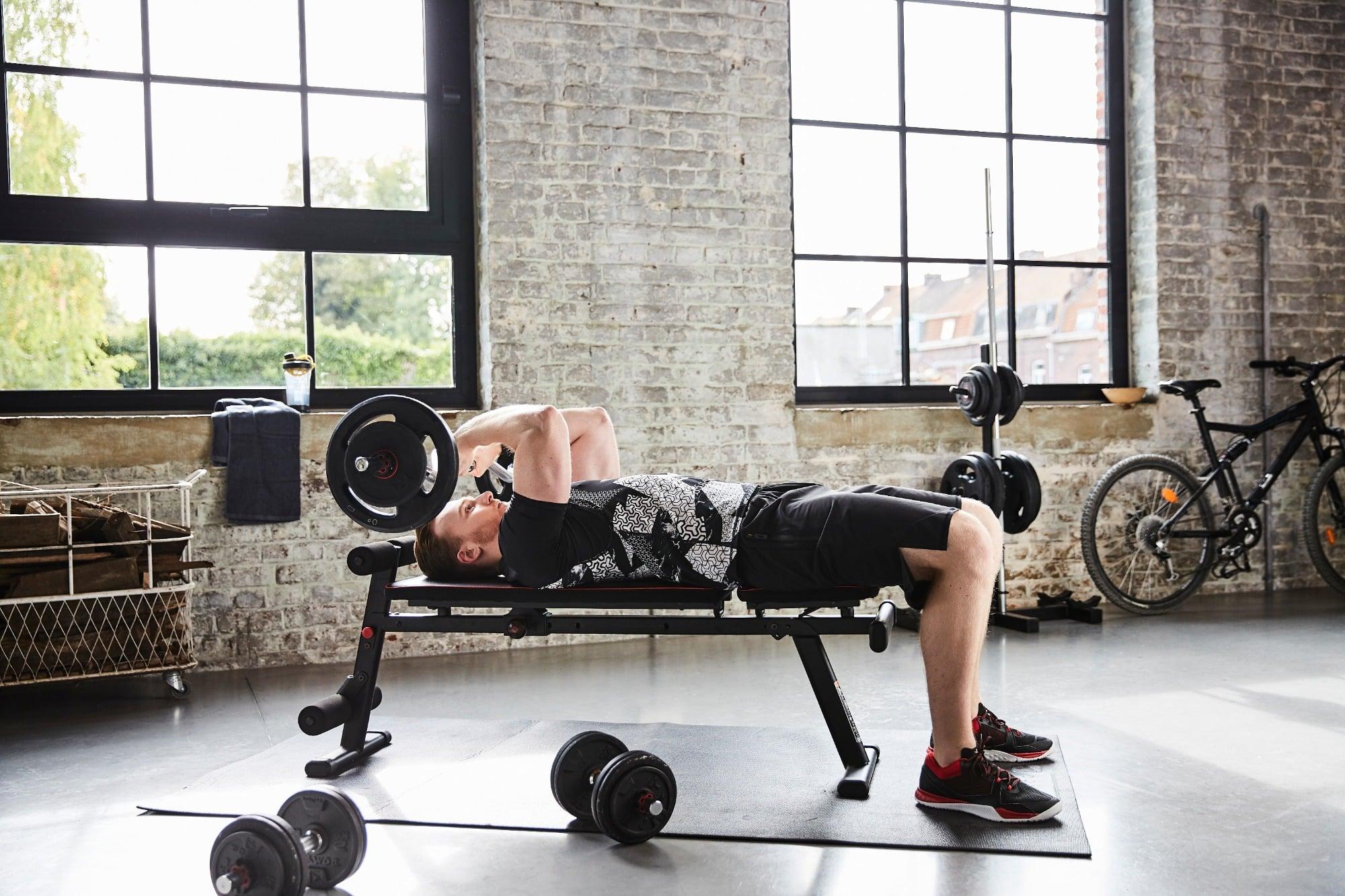 Exercice banc de musculation banc de musculation care gym - Notice de montage banc de musculation domyos hg050 ...