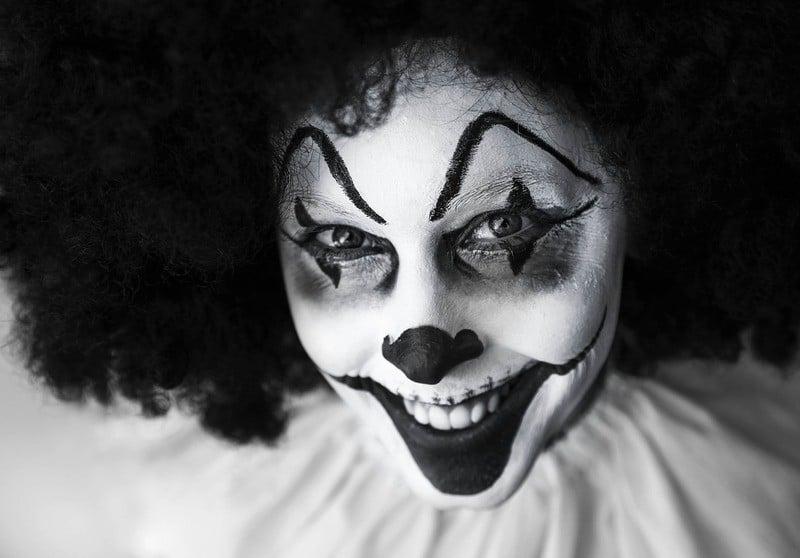 Un clown maléfique