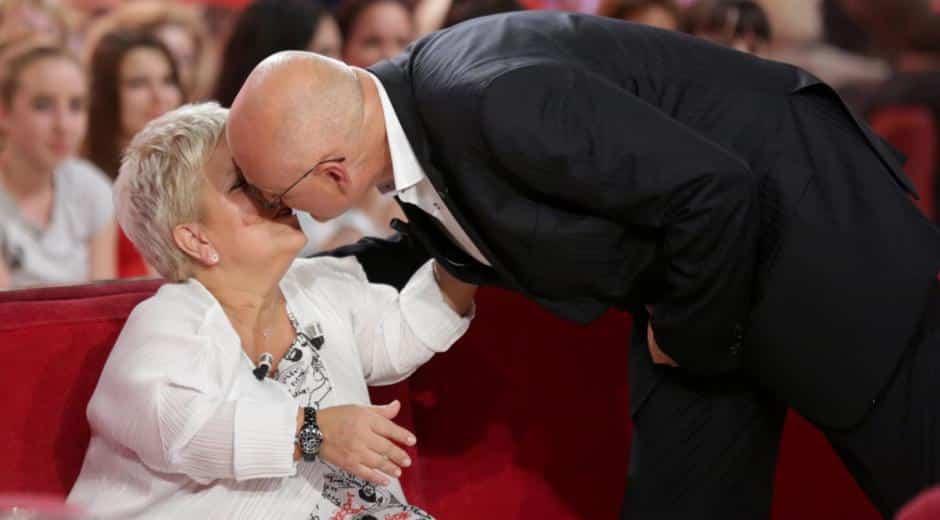 Mimie Mathy et son mari