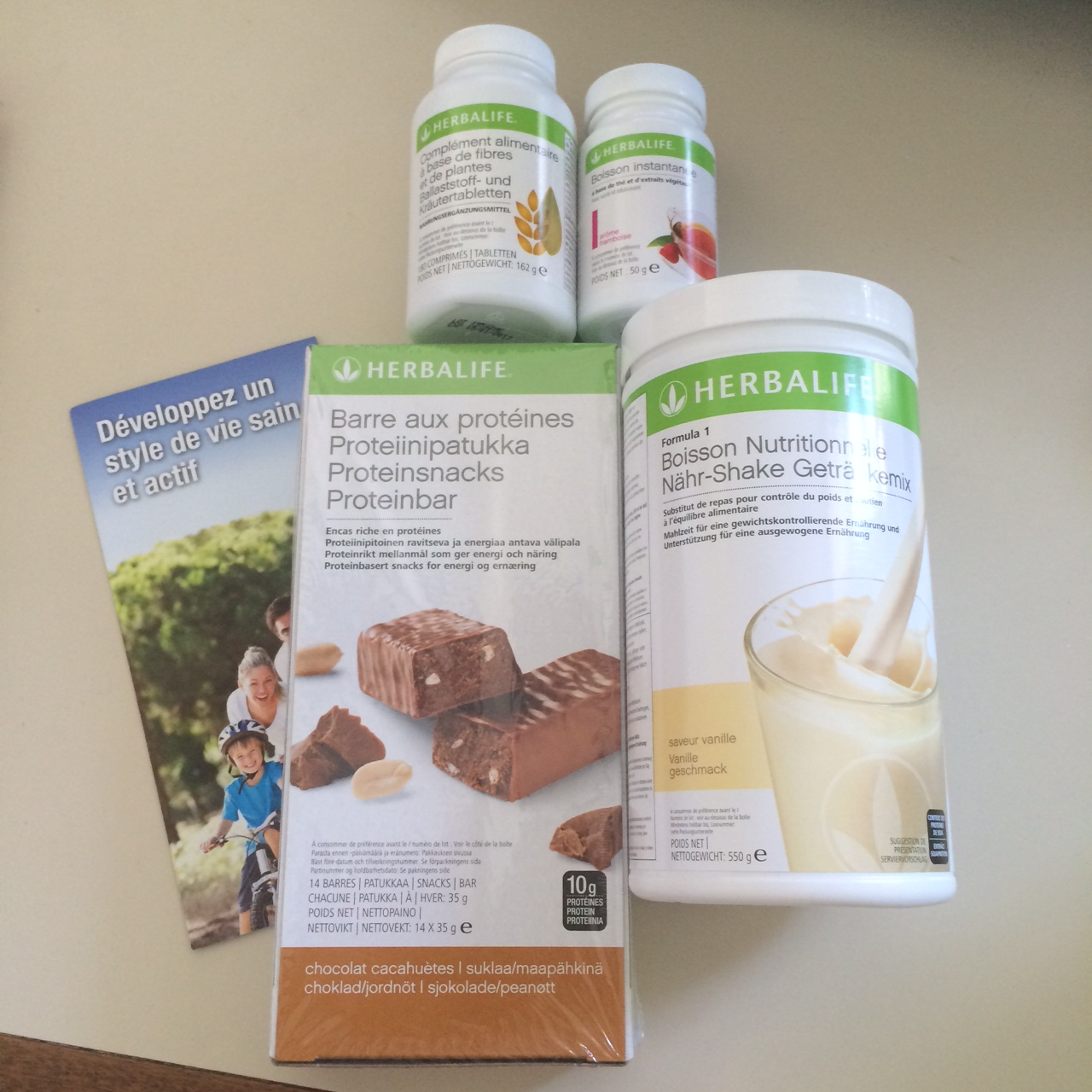 Les compléments alimentaires Herbalife