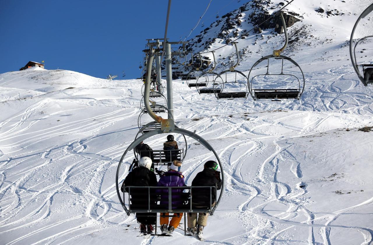 vacances au ski pas cher Balade en station de ski