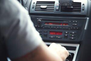 autoradio d'origine non tactile