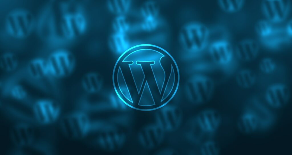 le logo de wordpress