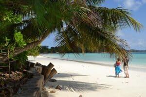 journée unique à la plage Seychelles